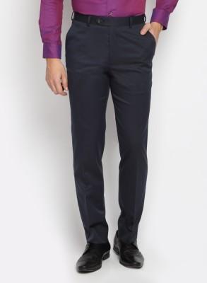 SUITLTD Slim Fit Men's Blue Trousers