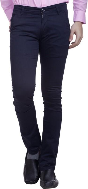 Nimegh Slim Fit Men's Blue Trousers