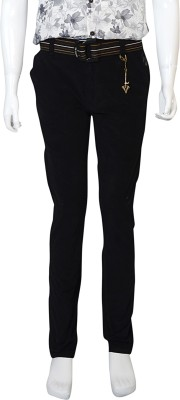 Puppet Nx Slim Fit Boy's Black Trousers