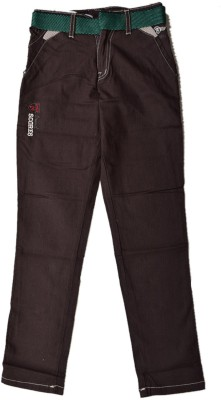 British Terminal Slim Fit Boys Brown Trousers