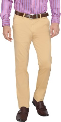 FN Jeans Regular Fit Men's Gold Trousers