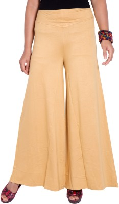 I-Vastra Regular Fit Womens Beige Trousers