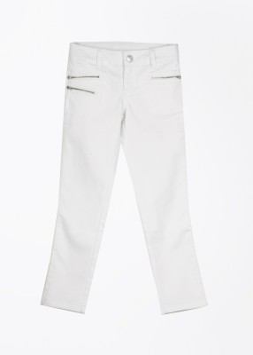 United Colors of Benetton Girls White Trousers