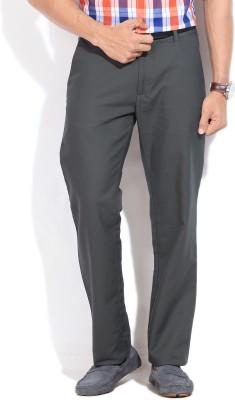 Arrow Sport Regular Fit Men's Grey Trousers
