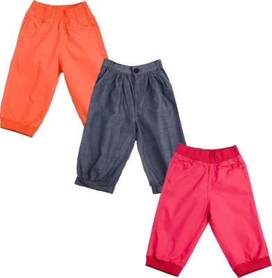 Addyvero Regular Fit Girl's Multicolor Trousers