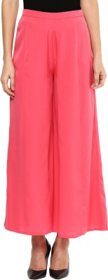 Libas Regular Fit Women's Pink Trousers at flipkart