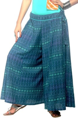 Rrajsee Regular Fit Women's Green Trousers
