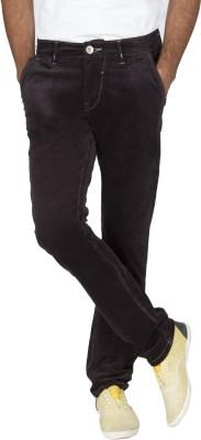 Rookies Slim Fit Men's Grey Trousers