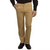 Green Power Slim Fit Men's Beige Trouser...
