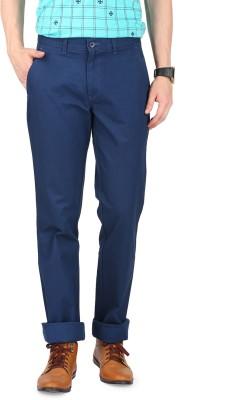 FR Slim Fit Men's Blue Trousers