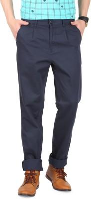 FR Regular Fit Men's Blue Trousers