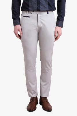 Alvin Kelly Slim Fit Men's Grey Trousers
