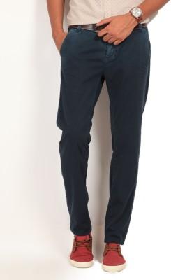 GAS Slim Fit Men's Blue Trousers