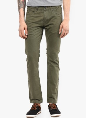 Jack & Jones Slim Fit Men's Green Trousers