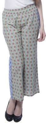 Florrie Fusion Regular Fit Women's Green Trousers
