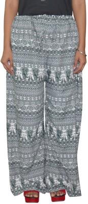 Pezzava Regular Fit Women's Green, White Trousers