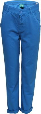 Slub Junior By Inmark Regular Fit Boy's Blue Trousers