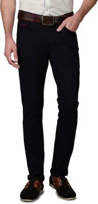 Allen Solly Slim Fit Men,s Black Trousers