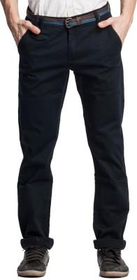 Beevee Regular Fit Men,s Dark Blue Trousers