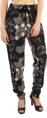 Good Fashion Regular Fit Women's Black Trousers