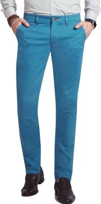 Specimen Slim Fit Men's Light Blue Trousers