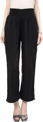 Mamacouture Regular Fit Women's Black Trousers