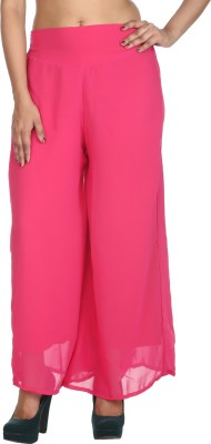 Rajrang Regular Fit Women's Purple Trousers at flipkart