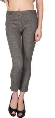 Kaxiaa Regular Fit Women's Grey Trousers