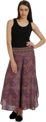Holidae Regular Fit Women,s Purple Trousers