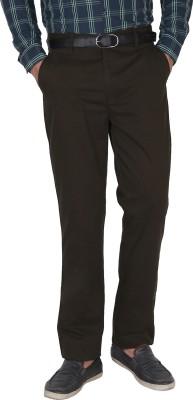 Crocks Club Regular Fit Men's Dark Green Trousers
