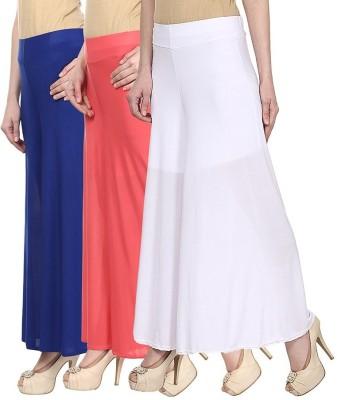 IKL Regular Fit Women's Blue, Purple, Red Trousers