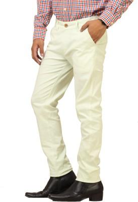 Cottinfab Regular Fit Men's Light Green Trousers