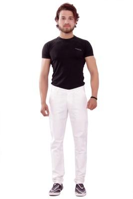 New Valley Regular Fit Men's White Trousers
