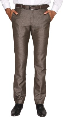 Fairro Trousers Regular Fit Men's Brown Trousers