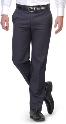 Leonardi Slim Fit Men's Blue Trousers