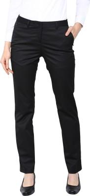 Arrow Regular Fit Women's Black Trousers at flipkart