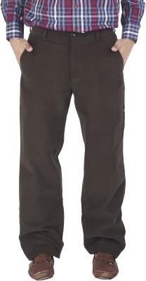 Silkina Regular Fit Men's Light Green Trousers