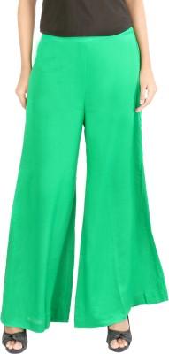 Belinda Regular Fit Women's Green Trousers