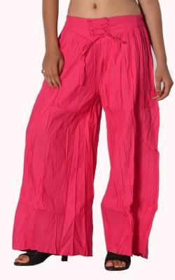 SBS Regular Fit Women's Pink Trousers