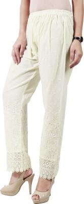 Haniya Regular Fit Women's Beige Trousers