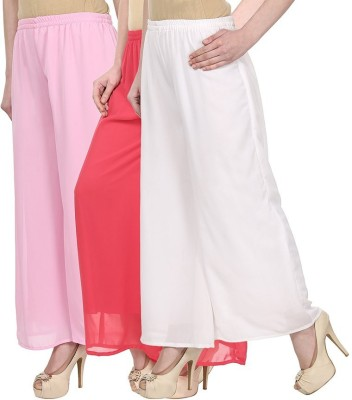 Skyline Trading Regular Fit Women's Pink, Pink, White Trousers