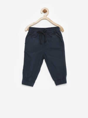 Yk Regular Fit Baby Boy's Dark Blue Trousers
