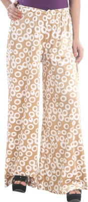 Stay Blessed Regular Fit Women's White, Beige Trousers