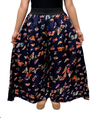 GraceDiva Regular Fit Women's Blue Trousers