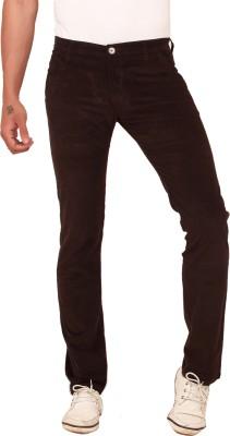 Scotlane Slim Fit Men's Grey Trousers