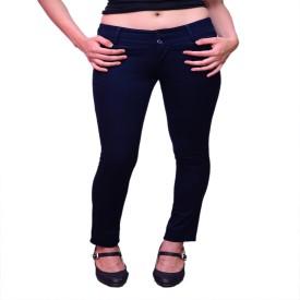NGT Slim Fit Women's Dark Blue Trousers