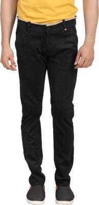 ELVIN Slim Fit Men's Brown Trousers