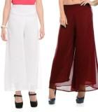 MDS Jeans Slim Fit Women's White, Maroon...