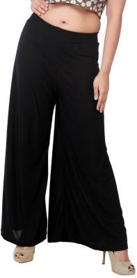 Fashionkala Regular Fit Women's Black Trousers