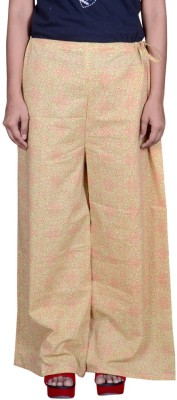 Pezzava Regular Fit Women's Yellow, Red Trousers